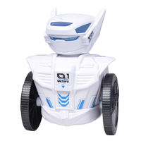 New Arrive Smart Robots Toys 2.4G Watch RC Robot Dacing Singing Robot with Cool LED for Children Birthday Gift Playing Kits