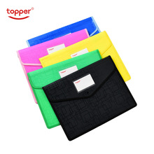 opaque A4/FC file bag thickened waterproof stereo file bag large capacity Document Hold Bags folders storage folder free shiping недорого