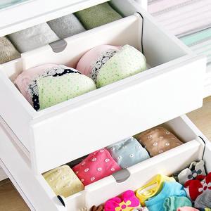 Image 2 - Drawer Separator Telescopic Wardrobe Drawer Divider Board Cabinet Clapboard For Ties Socks Bra Underwear Lingerie Organizer