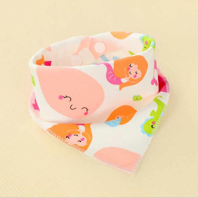 Nieuwe Leuke Baby Jongens Meisjes Slabbetjes Speeksel Handdoek Peuter Bandana Driehoek Hoofddoek