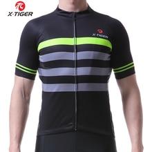 f2f37fe7e2 X-TIGER hombres pro ciclismo 2018 ciclismo ropa manga corta mountain bike ropa  ciclismo