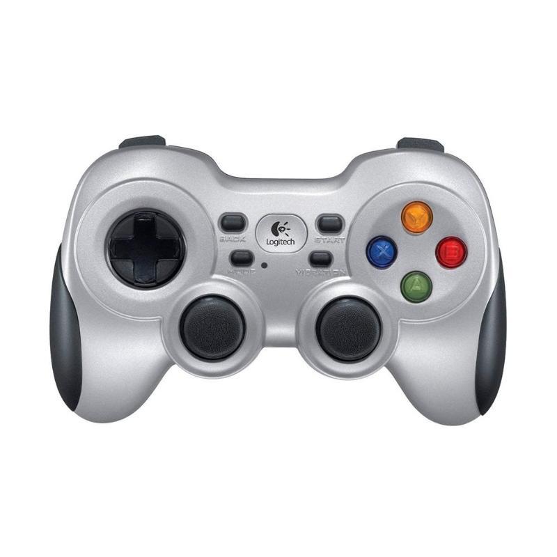 Logitech F710 Double Vibration 2.4G manette de jeu sans fil manette contrôleur de poignée de jeu pour les jeux d'arcade de Football
