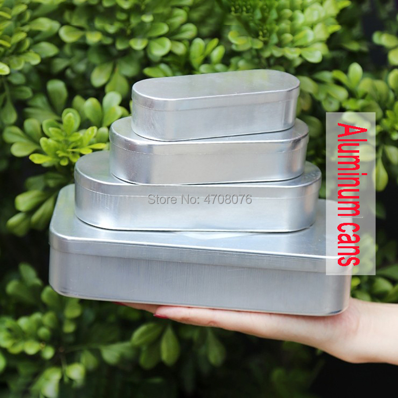 5/10/20/50ml 2sets/pack Sterile Needle Box Aluminium Acupuncture Tool Case Oval Pin Box Syringe Case Medical Safety Boxes
