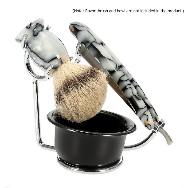 Men's Shaving Holder Stand Razor & Brush Stand 2018 Fashion Men Beard Cleaning Accessory