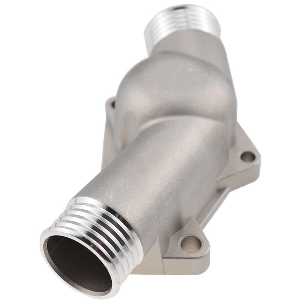Carcasa de termostato de aluminio mejorada con junta para Bmw M3 Z3 E36 E34 11531722531 11531740437 pulido