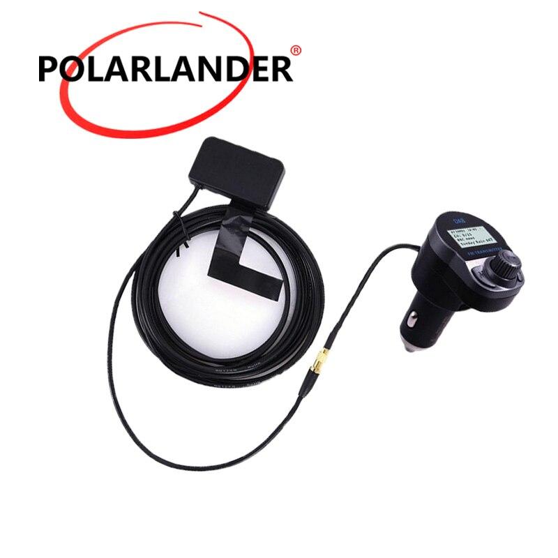 Chargeur USB sans fil voiture | Numérique, 5V/2.4A, DAB/DAB + récepteur Radio FM, transmetteur, Bluetooth, mains libres, adaptateur Audio d'antenne, sans fil