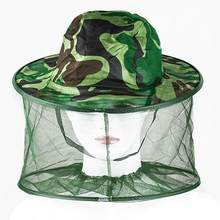 Outdoor Professional Mosquito Bug Insect Bee Resistance Net Mesh Head Face Protector Hat Cap(China)