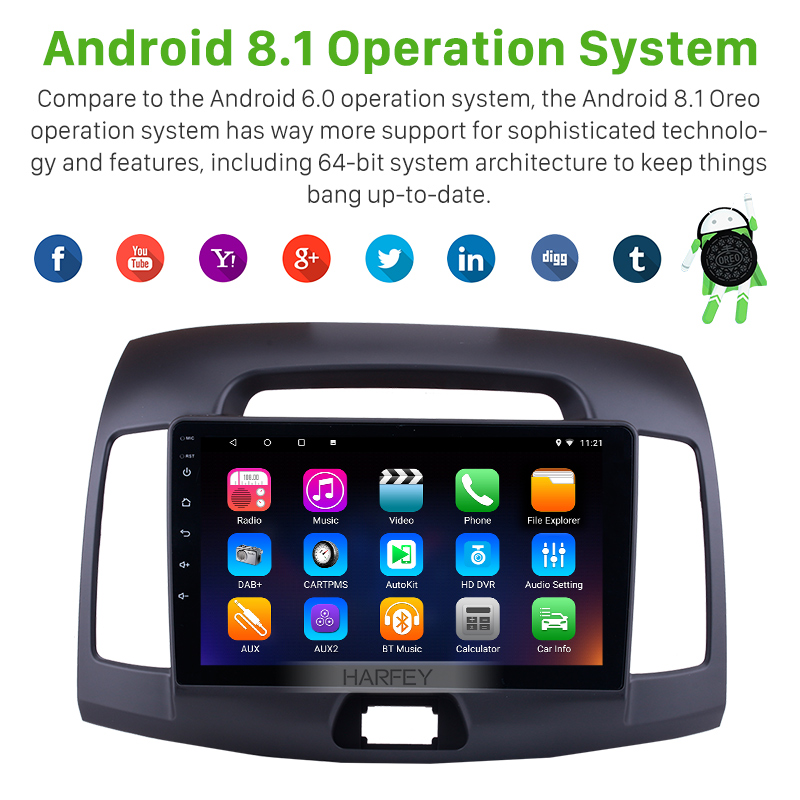 """Stop118 Harfey 9""""Android Multimedia"""