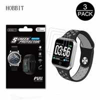 3 Pack Für LEMFO S226 Männer Multi Sport Smart Uhr Schutz Film GPS Smartwatch Explosion-Proof Anti-scratch screen Protector