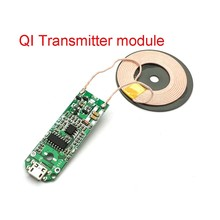 Qi Wireless Charger PCBA Circuit Board Coil Wireless Charging Micro USB Port DIY quick chargedrop shopping