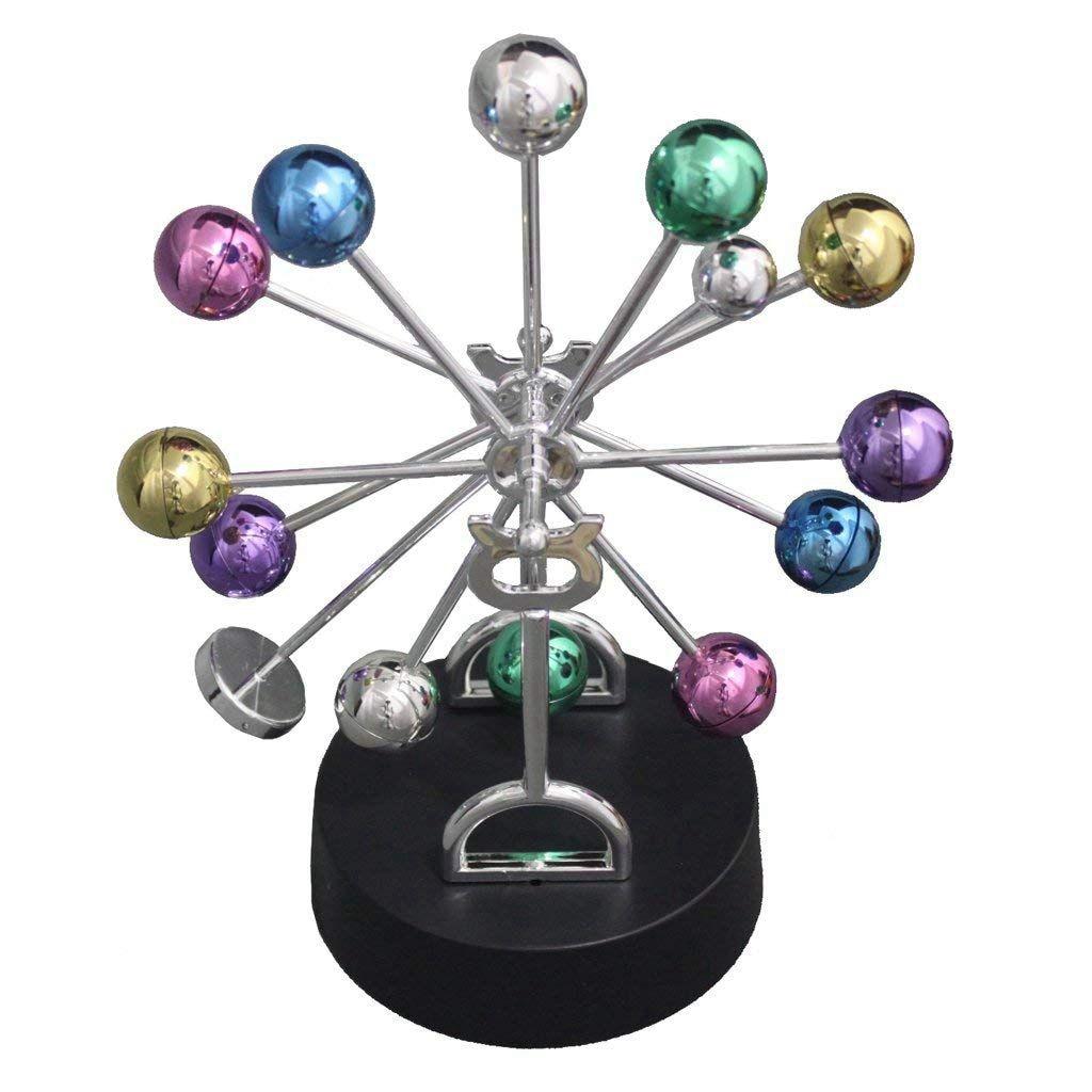Desktop Decoration Set Kinetic Art Asteroid,Balance Balls Desk Toy Physics Mechanics Science Toys Home Office Supply