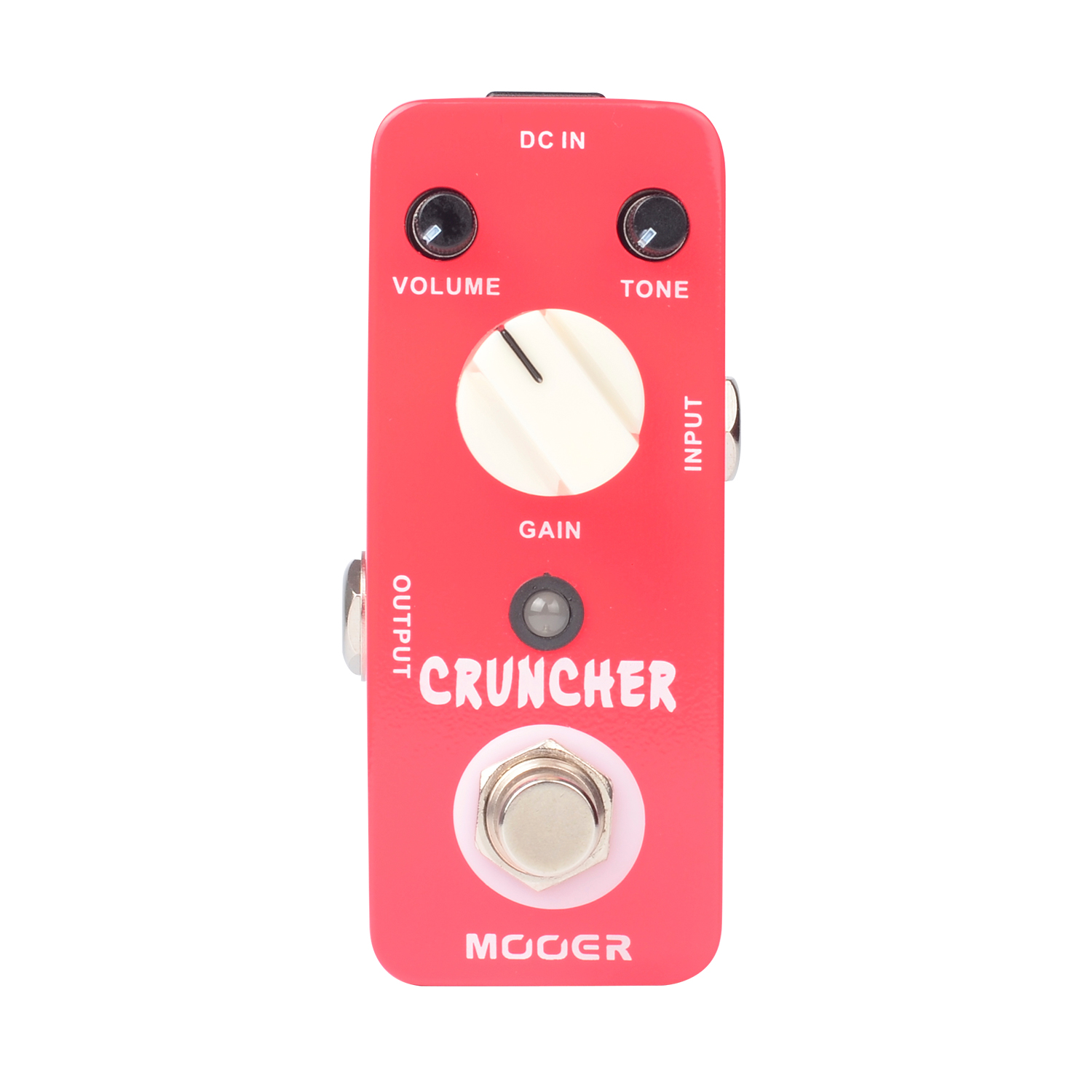 Mooer Cruncher High Gain Distortion Guitar Parts and Accessories Micro True Bypass Electric Guitar Bass Effects Pedal
