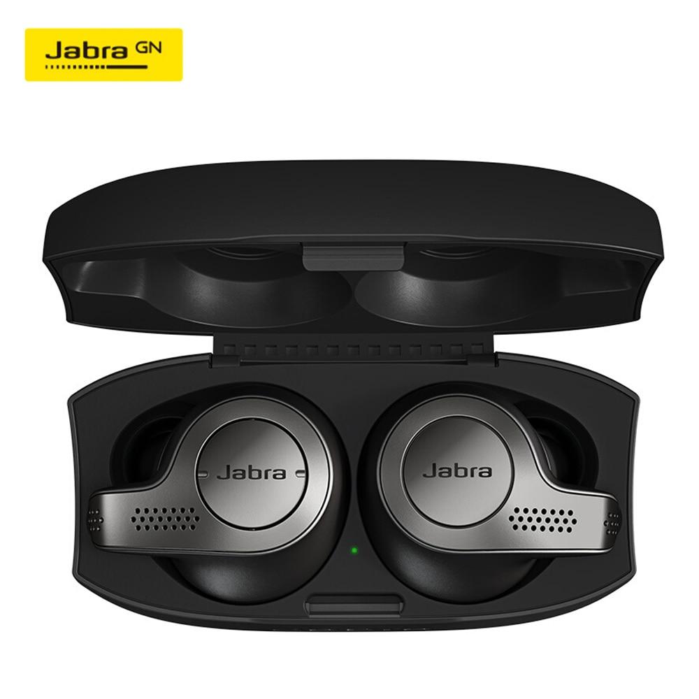 Jabra Elite 65t True Wireless Bluetooth Earbuds TWS Headphones with Charging Case Alexa Enabled Sport Running