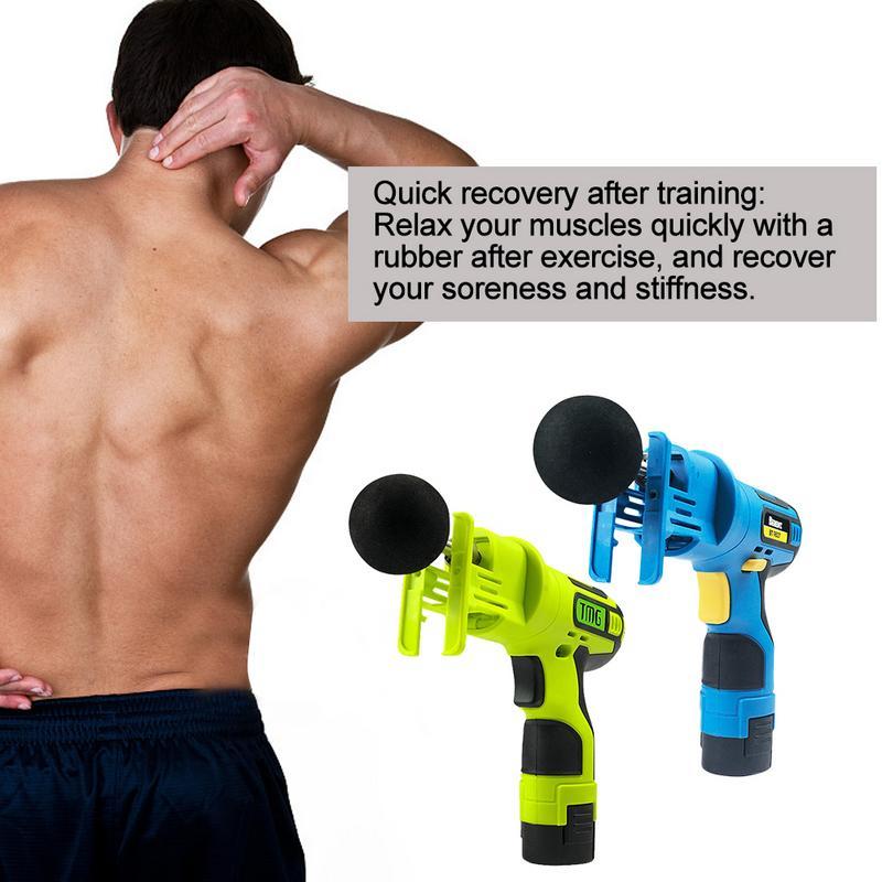 Relaxation corporelle thérapie profonde corps/Muscle pour pistolet masseur Relax Fascia Machine Fitness sport masseur musculaire pistolet de Massage - 3
