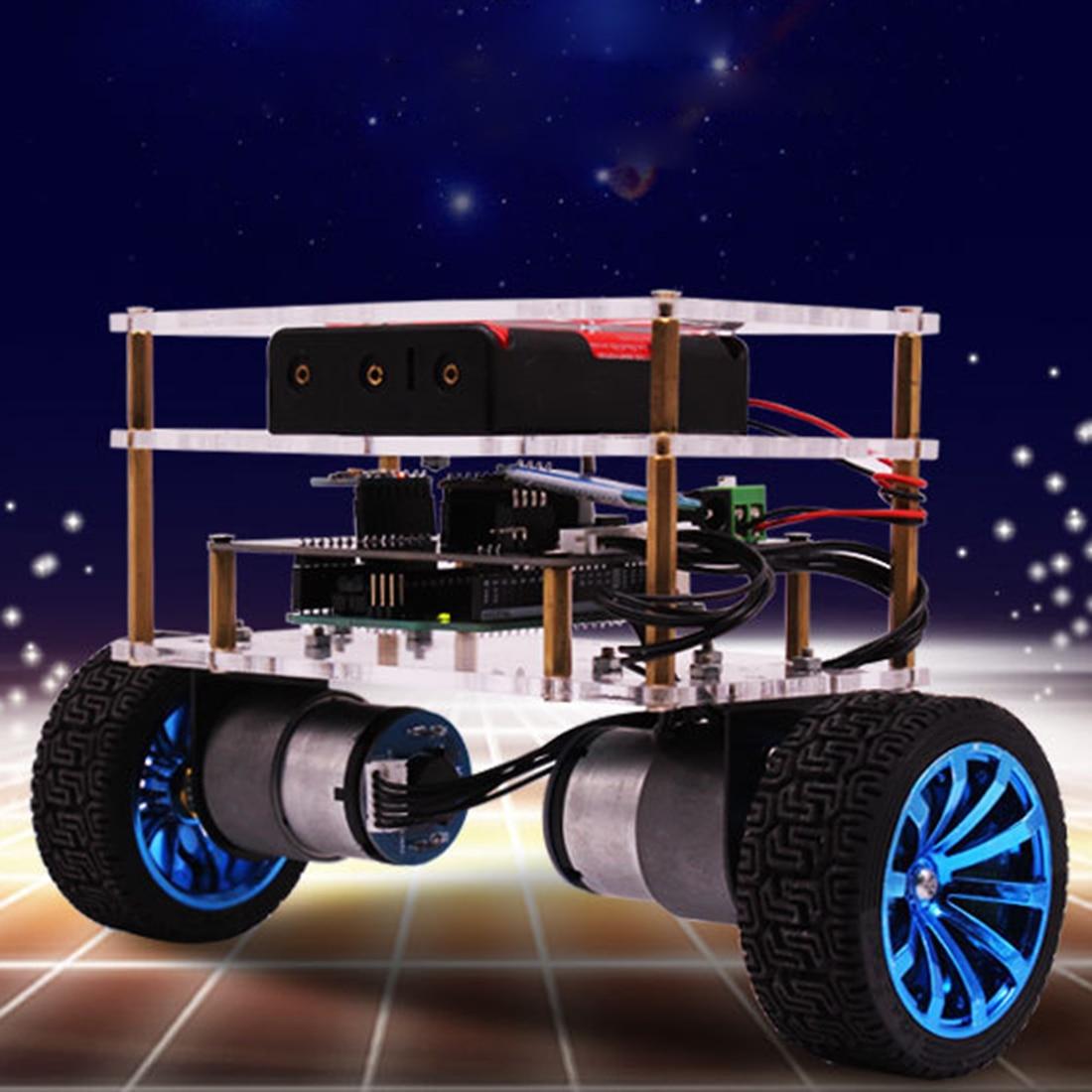 Oyuncaklar ve Hobi Ürünleri'ten Programlanabilir Oyuncaklar'de Denge Robot araba Arduino için uyumlu elektronik programlanabilir yüksek teknoloji robotik destek C dil çocuklar yetişkin'da  Grup 1