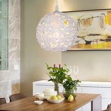 Modern Luminaire Suspendu Fashionable Plum Blossom Creative Living E27 Pendant lamp Room Bedroom Decoration Lights
