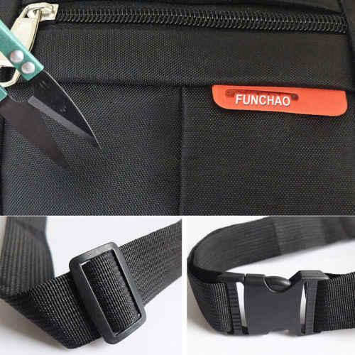 新しい固体ファニーパックメンズレディースウエストヒップベルトバッグ財布ポーチ旅行スポーツ収納袋尻ナイロン
