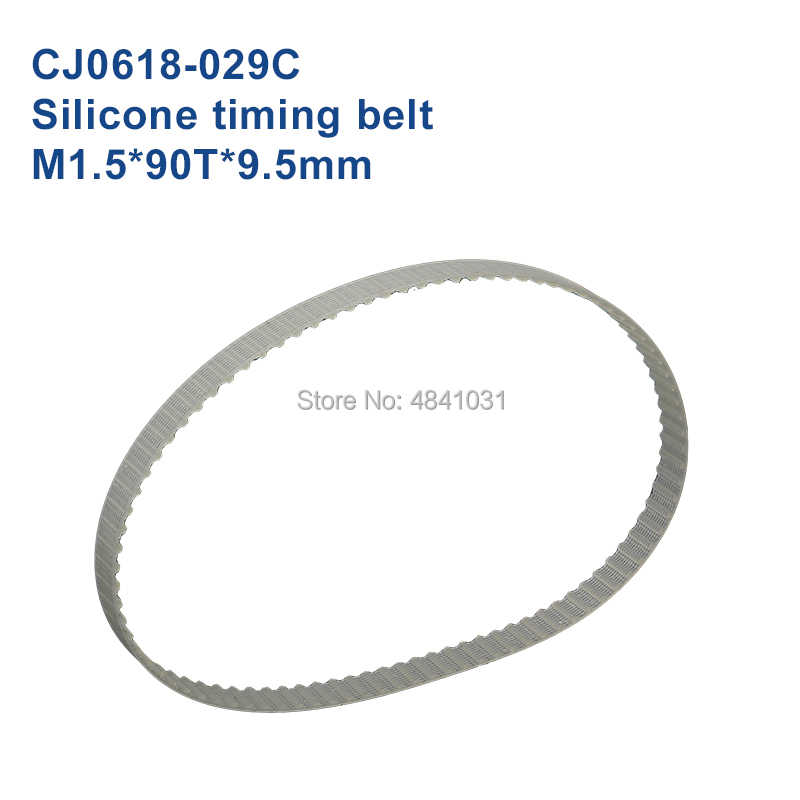 Correa sincrónica GT2 Correa dentada de goma M1.5 * 70T * 9,5mm cj0618 SIEG C2 C3 M1.5 * 90T * 9,5mm piezas de torno