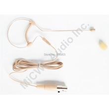 المهنية واحد الأذن هوك سماعة Headworn ميكروفون ل شور ULX GLX SLX PGX اللاسلكية الجسم حزمة الارسال