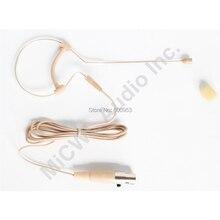 Professional Single ear Hook Headset Headworn Microphone For Shure  ULX GLX SLX PGX Wireless Body Pack Transmitter
