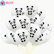 15pcs/lot 12inch Panda Latex Balloons Birthday Party Decor Kids Giant Balloon Animal Golobs Childrens Day Inflatable Toys