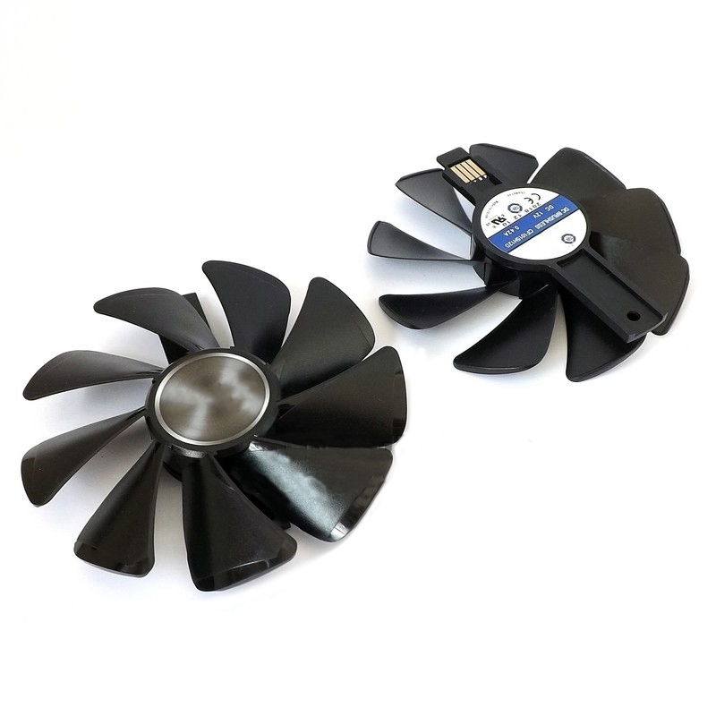 New 95mm CF1015H12D DC12V Cooler Fan Replace for Sapphire NITRO RX480 8G <font><b>RX</b></font> <font><b>470</b></font> <font><b>4G</b></font> GDDR5 RX570 <font><b>4G</b></font>/8G D5 RX580 Video Card Cooling image
