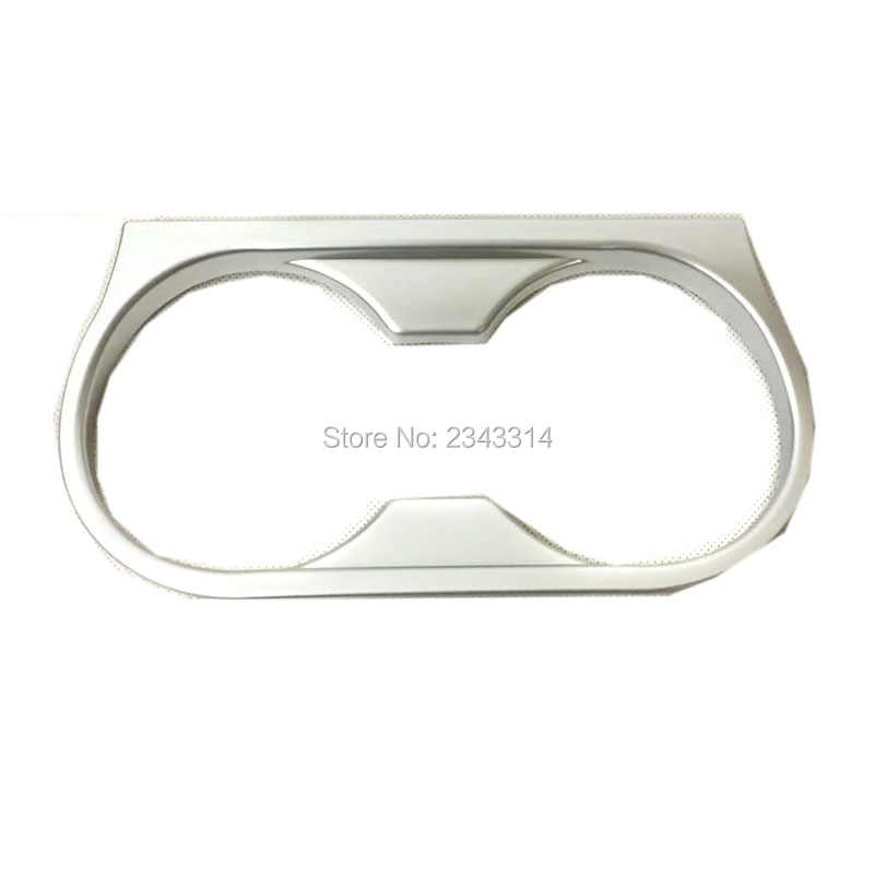 Voor Mitsubishi Outlander 2016-2018 Abs Water Cup Matte Center Console Houder Cover Frame Trim Sticker Interieur Auto Accessoires