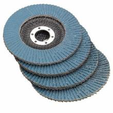 10PCS/Lot Professional Grinding Wheel Flap Discs Sanding 4.5