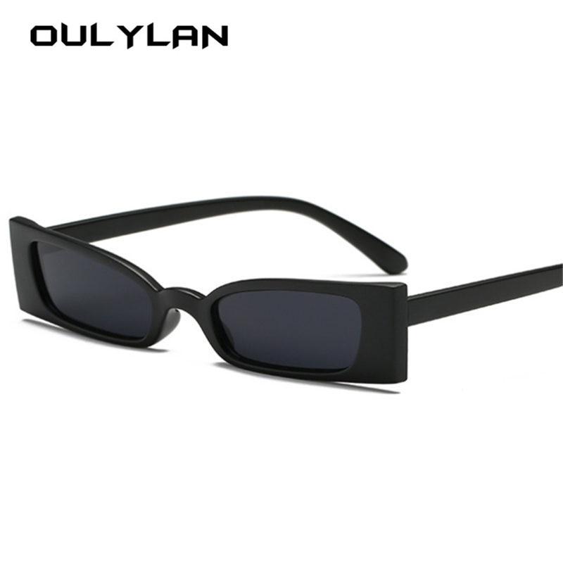 bd6e4d121a827 Oulylan Sexy Designer de Pequenos Óculos de Sol Do Olho de Gato Óculos De  Sol Das