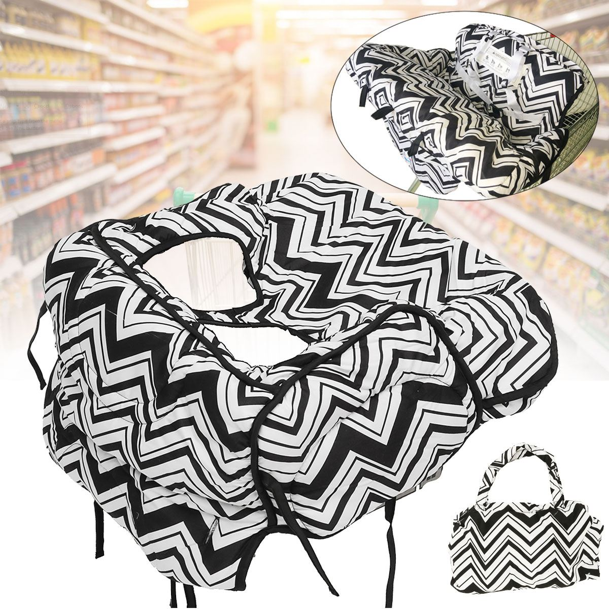 Foldable Baby Kids Trolley Pad Baby Chair Seat Mat Baby Shop