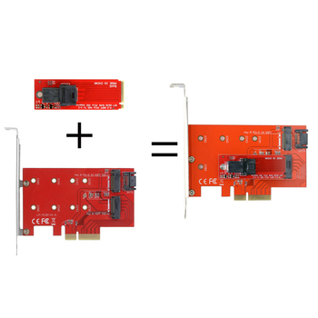 Jimier PCI-E 3.0 x4 Lane Host Adapter M.2 NGFF M Key SSD to U.2 U2 Kit SFF-8639 for Mainboard Intel SSD 750 p3600 p3700 m 2 ngff pcie 4 lane ssd to pci e pcie 3 0 x4
