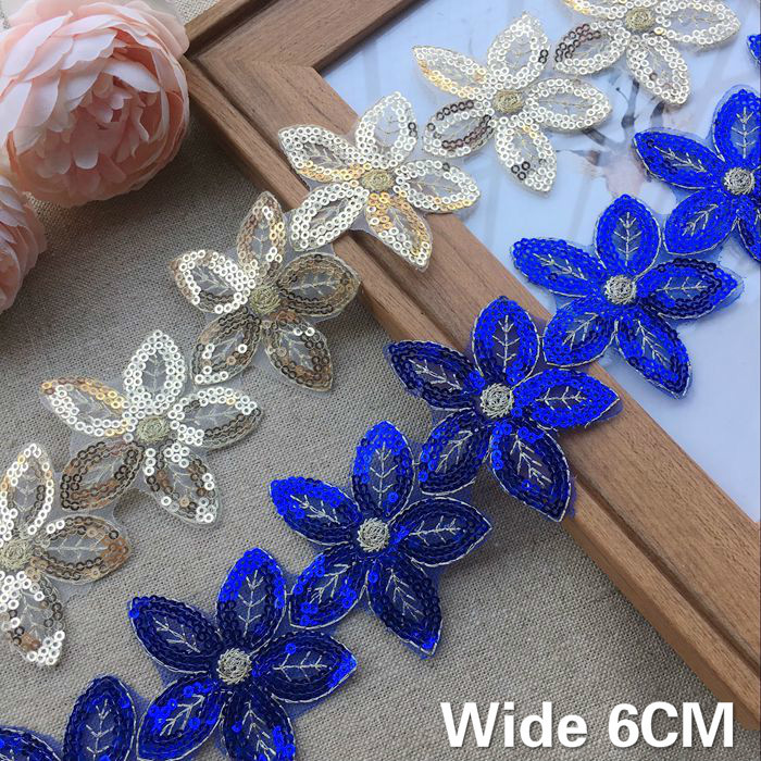 Satin Flower Diamante Embellishments Crafts Card Scrapbooking Sewing lady-muck1