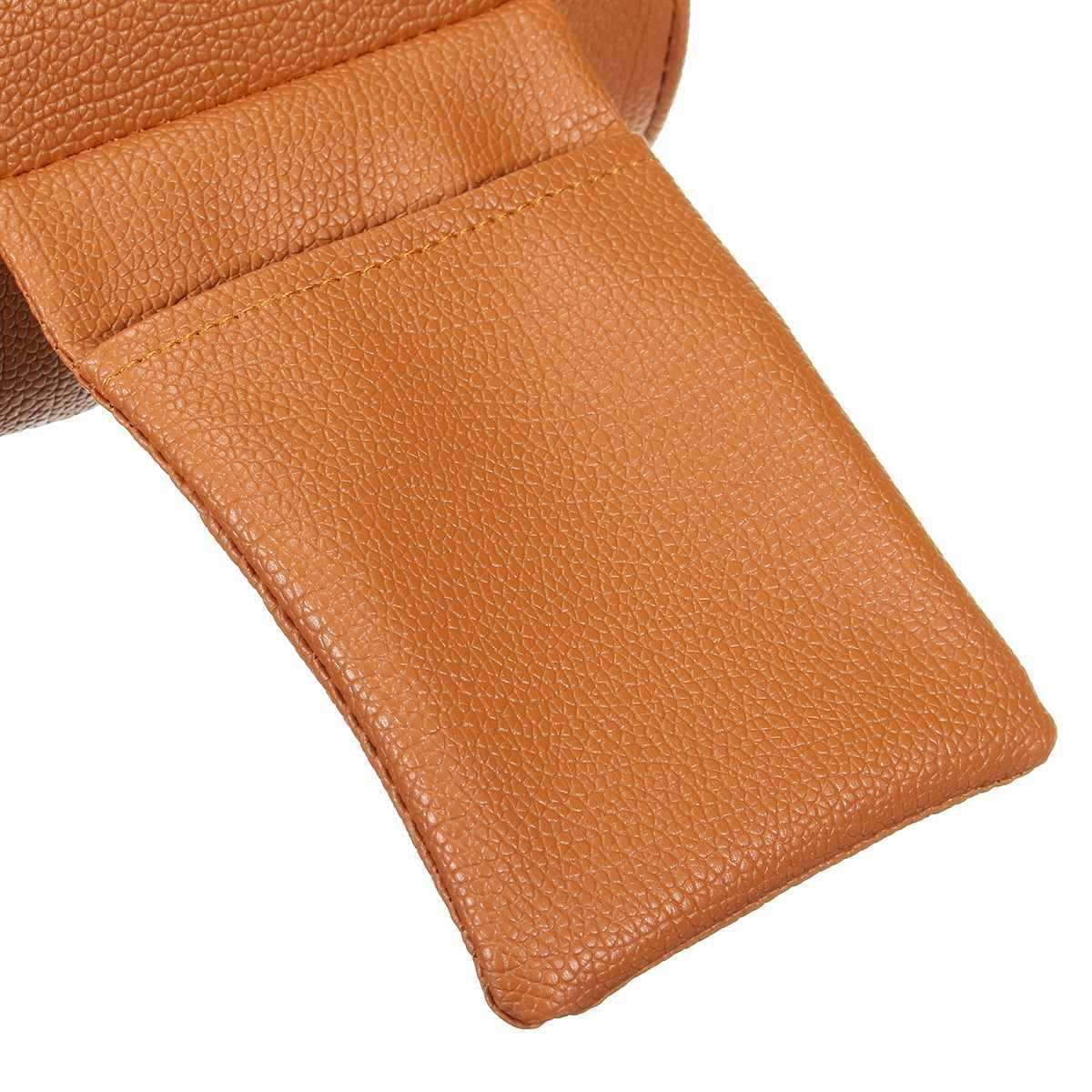 PU deri araba kol dayama Pad evrensel otomatik kol dayama kapakları araba oto merkezİ konsol Arm Rest koltuk kutusu pedleri koruyucu koltuk destek