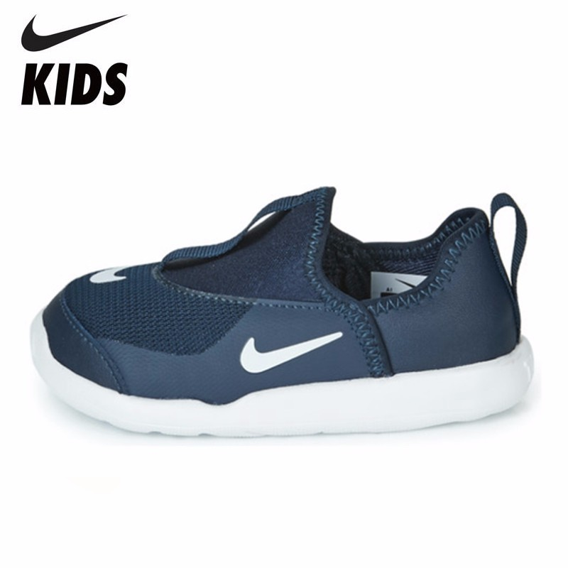 NIKE LIL SWOOSH (TD) Kids Official New Arrival Children Running Shoes Breathable Casual Sneakers #AQ3113-402NIKE LIL SWOOSH (TD) Kids Official New Arrival Children Running Shoes Breathable Casual Sneakers #AQ3113-402