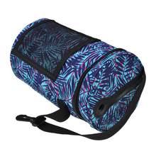 2430220bd37b Вязаный крючком для хранения шерсти Bin DIY тканые хранения сумка принт  барабан сумка вязаная сумка с
