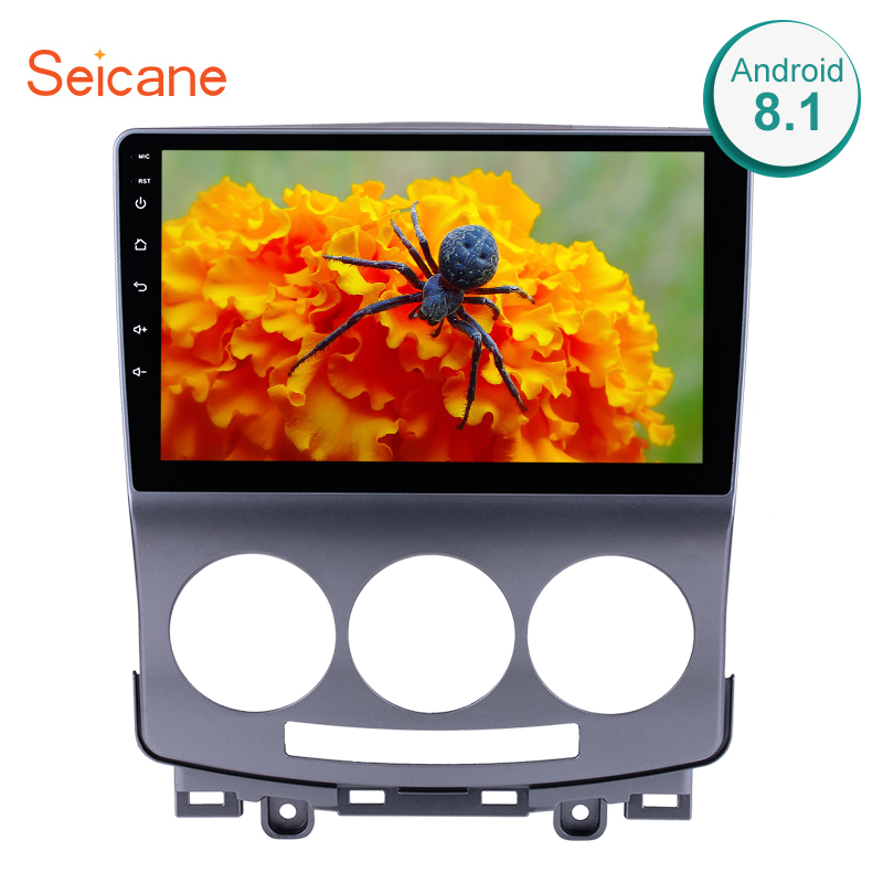 Seicane 2Din GPS Head Unit Android 8.1 9  Car Radio For 2005-2010 Old Mazda 5 Multimedia Player Support Wifi OBD2 DAB+ Camera