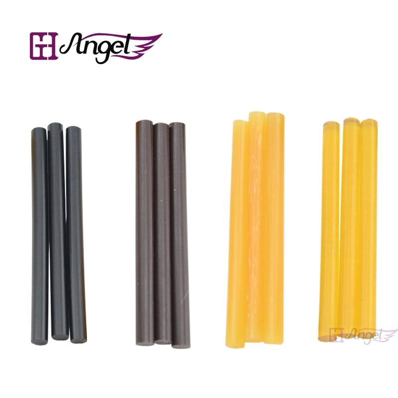 Free shipping 240pcs 0 7 10 cm Keratin Glue Sticks for hair extensions Fusion Glue mix