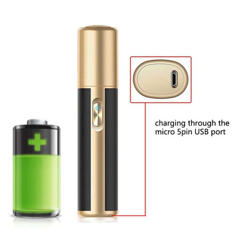 Leyiken Dry Herb Vape Electronic Cigarette Amus-P1 Vapor Kit Stylish For Heating Cartridge Stick With Specifical Clean Brush(B