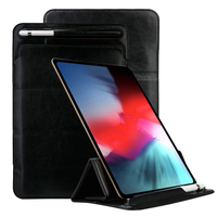 For IPad Pro 12.9 Inch 2018 Case PU Leather Tablet Case Flip Stand Cover With Card Slots And Pen Holder Protective Cover