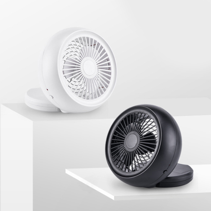 Portable Mini Snail Fan USB Battery Power Low Noise Adjustable Angle Desktop Fan Super Summer Air Cooling Fan Ventilator #3
