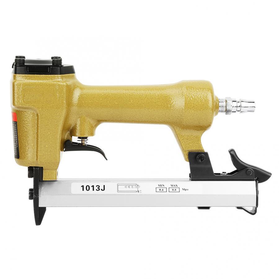 Nail Guns Contemplative Nail Gun Woodworking Tool 60-100psi U-shaped Pneumatic Nail Gun 1/4 Inch Air Stapler Rivet Gun Power Tools Power Tools