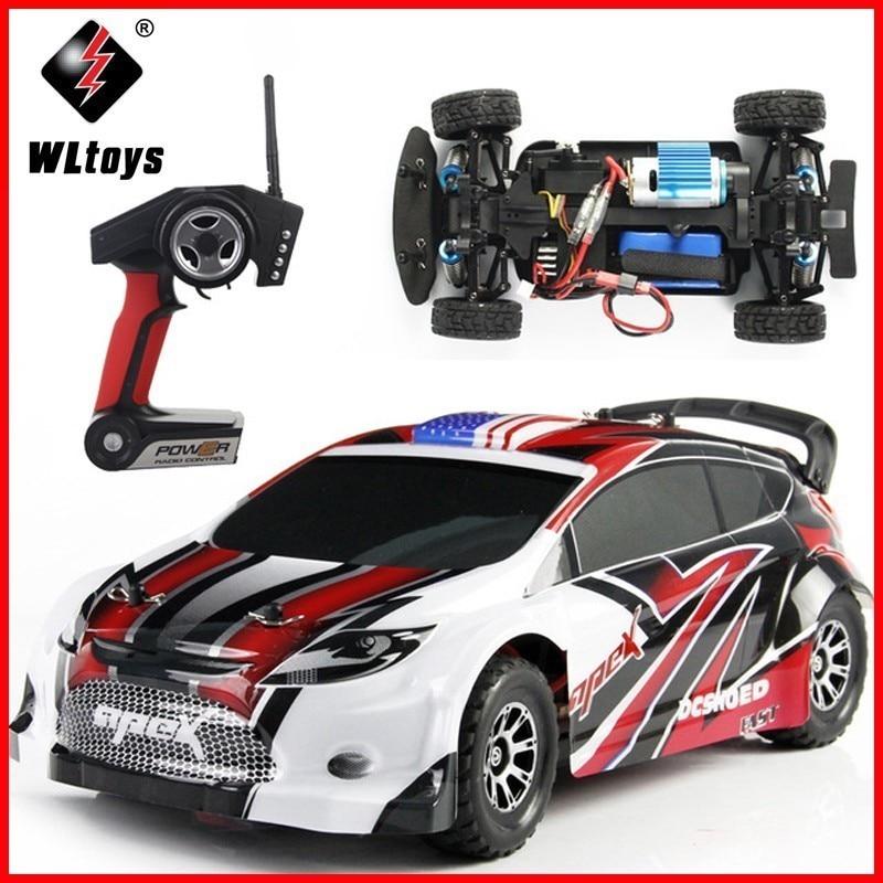 WLtoys A949 voiture de course RC Original RTR 4WD 2.4 GHz jouets voiture télécommandée 1:18 haute vitesse 50 km/h voiture électronique livraison gratuite