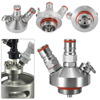 New Stainless Steel Beer Dispenser Mini Keg Tap for Homebrew Spear Craft Growler Accessories