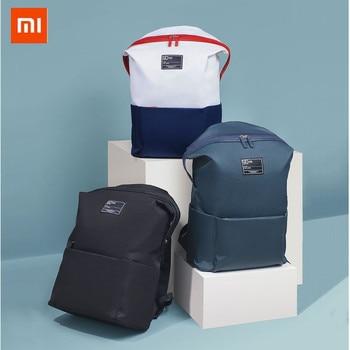 d2ede356d9892 Xiaomi 90FUN Ders 13.3 inç Laptop Sırt Çantası 75D Naylon Su Geçirmez  Eğlence Omuz okul çantası için açık hava seyahati için sırt çantası