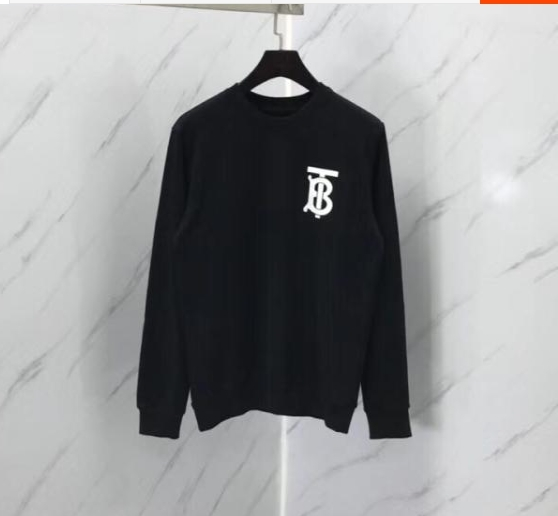 Pullover Sweatshirts Letter Spring Long-Sleeve New-Fashion Cotton for Men Women Tee Jumper