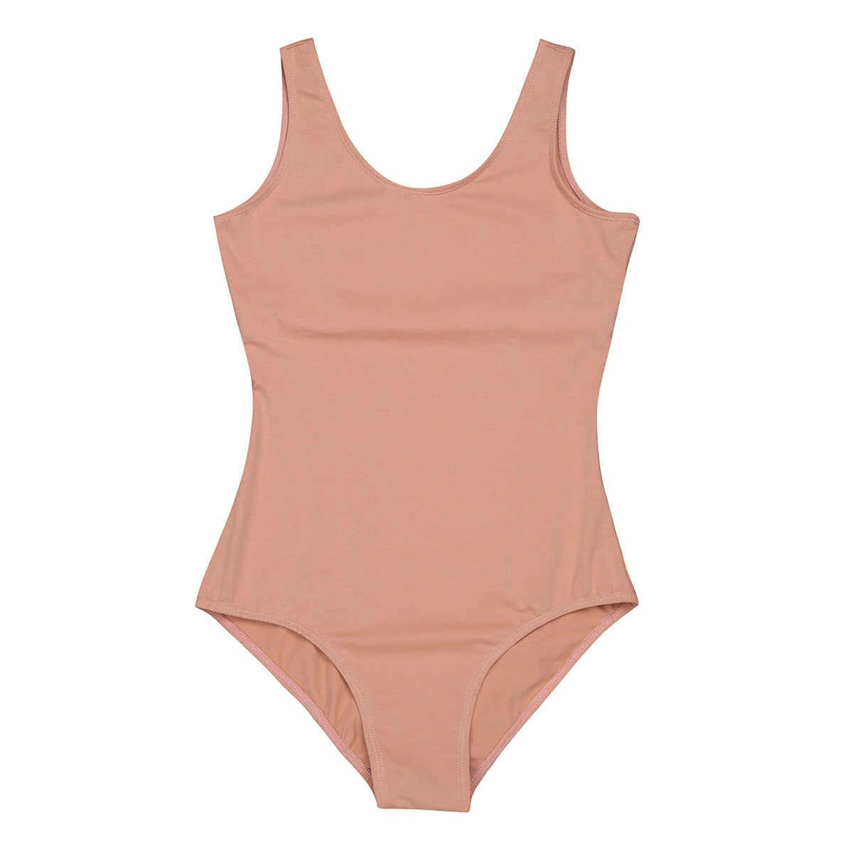 TiaoBug, женский, взрослый, эластичный, без рукавов, со встроенным бюстгальтером, для занятий балериной, балериной, танцами, трико, гимнастика, трико, боди