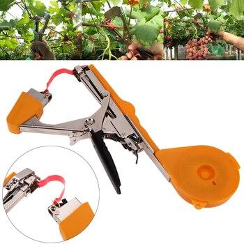 Завязывающая машина растение садовое растение Tapetool Tapener с лента в рулоне для овощей фруктовое растение Связывание Tapetool