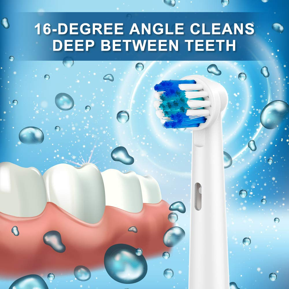 20pcs Electric Toothbrush Heads For SB17A SB 17A Oral B Triumph Professional Care Vitality Advance Power Plak Control Pro Health in Replacement Toothbrush Heads from Home Appliances