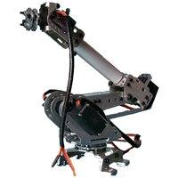 2018 Новые поступления 6DOF механический робот полный стальной подшипник рука коготь с сервоприводы для робототехники DIY Детская игрушка рука