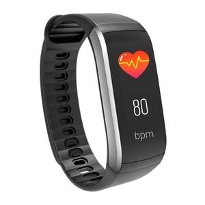 Image 1 - KR02 IP68 étanche Bracelet de remise en forme GPS bande intelligente moniteur de fréquence cardiaque montre Tracker dactivité 3 pour Xiao Mi Android IOS téléphone
